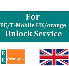 UNLOCK CODE SERVICE FOR iPhone 7 6s+ 6 Plus 5 5S 6S 4 FOR EE ORANGE T-MOBILE UK