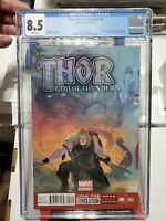 Thor God of Thunder #2 - 8.5 VF+ graded CGC - 1st Gorr the God Butcher 2012-2013