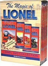 The Magic of Lionel 4 DVD Box Set NEW Layouts Toy Train model layouts