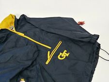 Reebok heisman yth XL georgia tech windbreaker hideaway hoodi yellow jackets GT