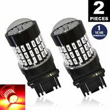 LUYED 2 X 900 Lumens 12-24v Red 3056 3156 3057 3157 LED Bulbs