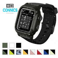 Waterproof Tactical Rugged Apple Watch Protective Band & Case Series 1 2 3 42mm
