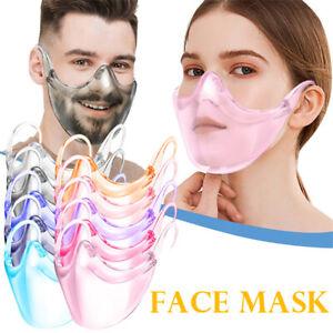 2020 NEW Radical Alternative Transparent Shield Reusable Clear Face Masks
