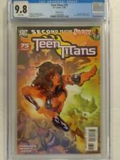 Teen Titans 75 CGC 9.8 WHITE pages ADAM HUGHES Variant HoT HTF DC Comics