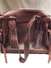 Aimee Kestenberg Genuine Leather Triple Entry Satchel -Cori