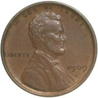 1909 VDB Lincoln Wheat Cent About Uncirculated Penny AU