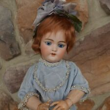Antique German S & H 1079 Simon & Halbig Dep 8 Bisque Head Doll Crier Body