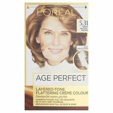L'Oreal Excellence Age Perfect Hair Dye Colour - 5.31 Warm Natural Brown