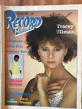 Record Mirror Oct 1st 1983 Tracey Ullman Foxx Pete Burns Numan PiL