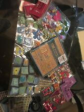 Scrapbook Paper, Embelishments, Stickers and Stamps