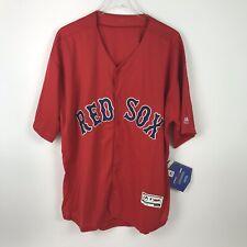 Majestic Mens Flexbase Boston Red Sox Scarlet Alt Baseball Jersey Size 52