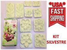 Flower Molds 3D KIT Foam Craft Moldes de Flores Foamy Eva foam MODEL SILVESTRE