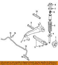 MITSUBISHI OEM 07-13 Outlander Rear-Trailing Control Arm Bushing 4120A181