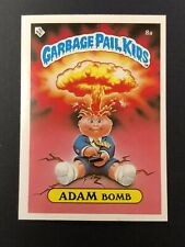 1985 UK Garbage Pail Kids Series 1 (8a) Adam Bomb