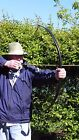 Mongolian Archery Horse Bow, The Black Flame, 51in 25-30lb  FREE SHIPPING