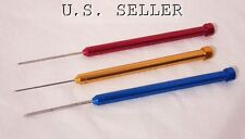 3 Piece Deluxe Titanium Soldering Pick Kit (BLUE,Red,Gold)