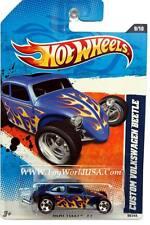 2011 Hot Wheels #99 Heat Fleet Custom Volkswagen Beetle blue