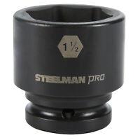 Swivel Head 3//8in Steelman Pro 14mm 9in Extension Impact Socket 97894 Drive