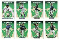 2019 Topps Archives High Number Short Print Rookie Card Set (10) SP Vlad Alonso!