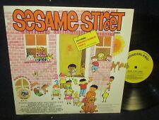 Sesame Street Songs LP Canada Import
