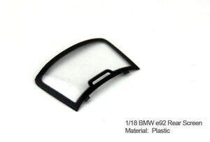 1/18 Kyosho Spare Part BMW e92 e93 M3 Rear Glass Windshield