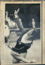 1973 Seattle WA Chinese Gymnast Ting Chao Fang Did Floor Routine Press Photo