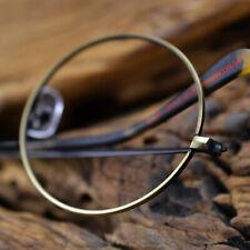 Japanese Vintage Handmade Round Eyeglass frames Slim Eyewear Spectacles Glasses