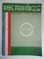 NOS Provincias Revistas Moderno Región Centro N º 3 2e Cuarto 1936