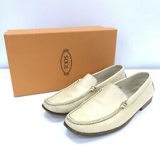 Tod's Gommino Shoes Size UK 5.5 EU38 Beige Slip-On Women's Smart Everyday 291906