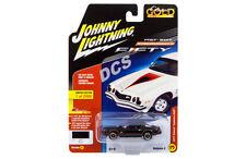 JOHNNY LIGHTNING 1977 CHEVROLET CAMARO Z28* BLACK  1/64 DIECAST CAR JLCP7055 B