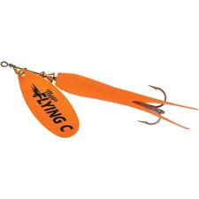 Mepps Flying C Spinner 7/8 Oz Salmon Steelhead Fishing Lure Orange 6-Pack
