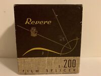 Vintage Revere Camera Company Chicage Illinois S - 200 Film Splicer Original Box