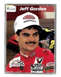 Jeff Gordon 1993 Silver Series '93 Finish Line Racing Pro Set Trading Card