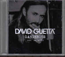 David Guetta-Dangerous Promo cd single