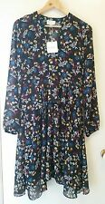 NEW Hi There from Karen Walker peplum Floral dress, size 8 RRP$129.95
