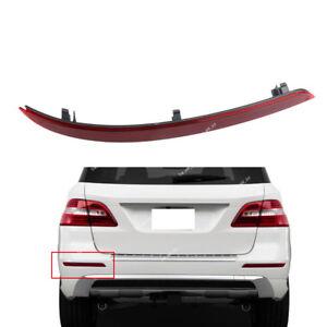 Rear Bumper Left Reflector Lamp For Mercedes-Benz W166 ML63 ML350 ML550 12-15