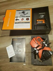 Drone Wingsland S6 4K in original box flown only twice never crashed