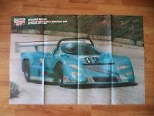 POSTER ANNO 1988 - MAURO NESTI CAMPIONE EUROPEO DELLA MONTAGNA SU OSELLA PA9 BMW