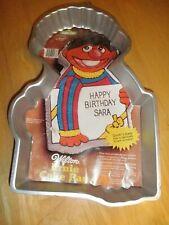 Vintage 1983 Wilton Cake Bake Oven Pan Sesame Street Ernie Birthday Party Mold