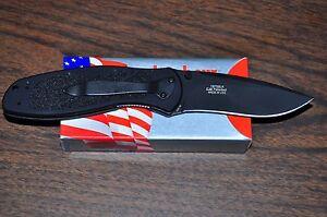 Blur Tactacil Knife w/Diamond-Like Carbon coated blade Aug 08 Kershaw 1670BLK US