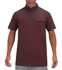 $75 Devereux Golf The BRUNNER Polo XXL 2XL Proper Threads Claret NEW with TAGS!