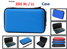 BLUE-Carry Storage Hard Protective Case Cover For New Nintendo 2DS XL /LL [BLUE]