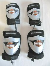 Harley Davidson Knee & Elbow Pads Kids Size Ages 3+ Gift