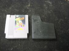 Original Nintendo NES MIGHTY BOMBJACK Video Game w/ Black Case