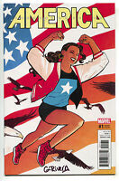 America 1 Marvel 2017 NM 1:50 Cliff Chiang Variant LGBT USA Signed Gabby Rivera