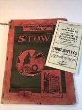 1921 Automotive Tools & Equip Catalog Service Gas Station Garages, Steam Engine