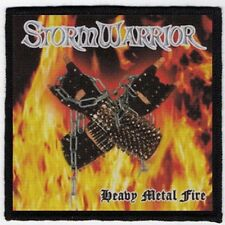 STORM WARRIOR PATCH / SPEED-THRASH-BLACK-DEATH METAL