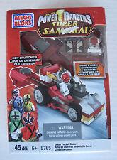 Mega Bloks Power Rangers Super Samurai Deker Pocket Racer 5765 - New Sealed Box
