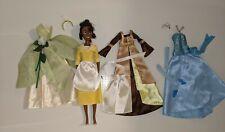 "Disney The Princess and the Frog Deluxe Tiana Doll Wardrobe Playset 11"" EUC"