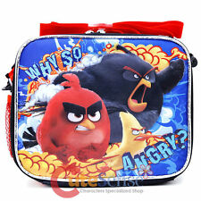 Angry Birds School Lunch Bag - BRAND NEW Licensed - Why So Angry?